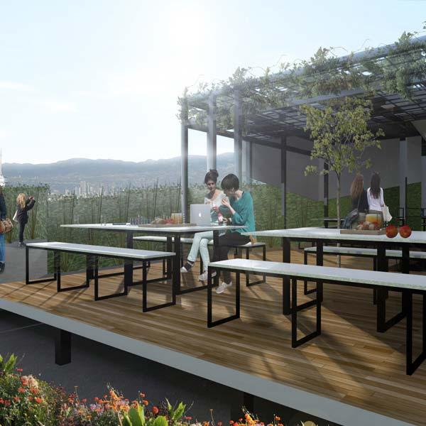 Nueva terraza comedor en la ciudad de m xico timberland - Comedor terraza ...